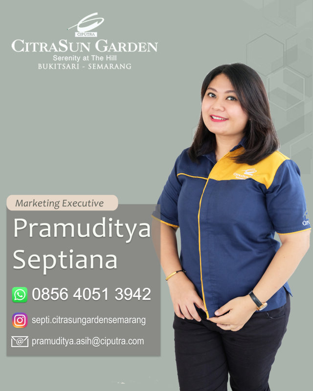 SEPTI - MARKETING CITRASUN GARDEN